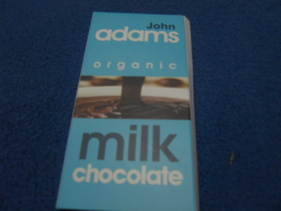john adams, milk chocolate