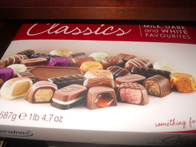 Thorntons, chocolate, classic collection