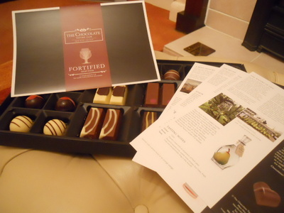 hotel chocolat, tasting club, fortified, alcohol, liqueur chocolates