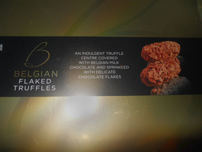marks & spencer, m&s, belgian truffles
