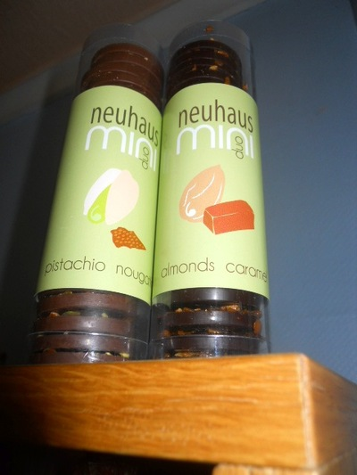 mini duo, nehaus, belgian chocolate