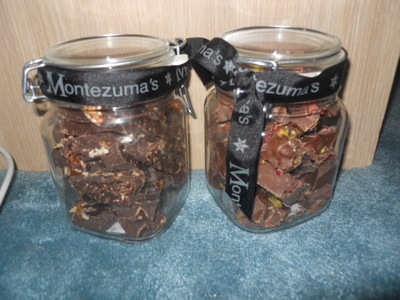 montzumas, jar bars, chocolate
