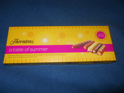 thorntons, chocolate, taste of summer, summer