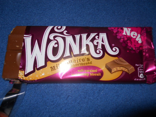 Wonka Shortbread Chocolate Bar Nestle Wonka Bars Image 1